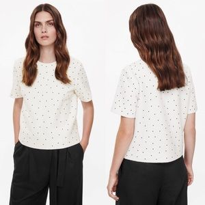 COS Dotted Wool Top